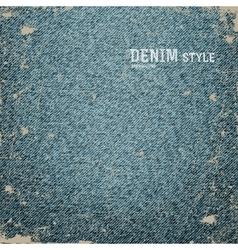 Denim jeans texture vector