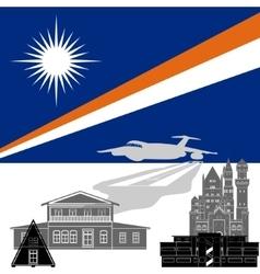 Marshall islands vector