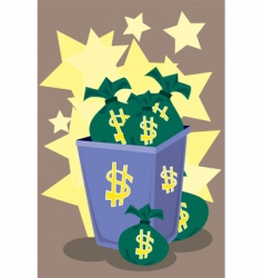 Money overload vector