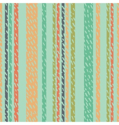 Multicolored striped background with brushstrokes vector