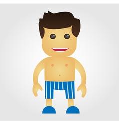 Underwear Man vector image