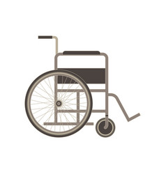 wheelchair icon disabled isolated handicapped vector image
