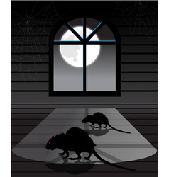 Rats in the attic vector