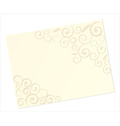 Invitation card template vector