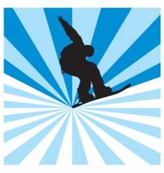 Snowboarder vector