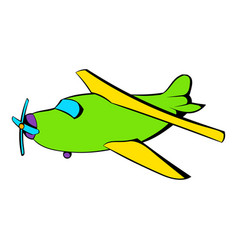 Biplane icon icon cartoon vector