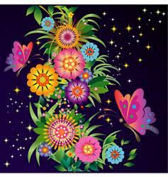 Celestial garden vector