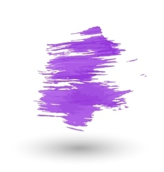 A purple smear of paint vector