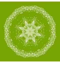 arabesque ornament vector image