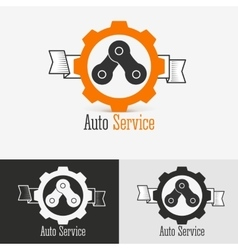 Auto logo design template vector