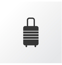 baggage icon symbol premium quality isolated vector image