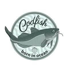Codfish vector