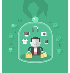 Customer care vector
