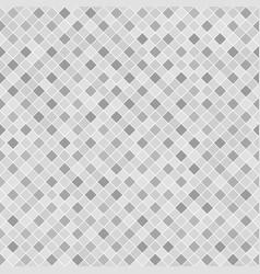 Gray checkered diamond pattern seamless vector