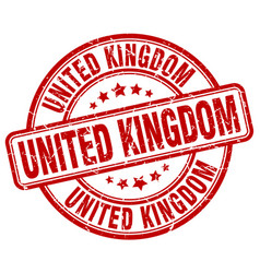 United kingdom stamp vector