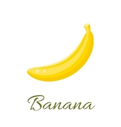 Banana icon vector