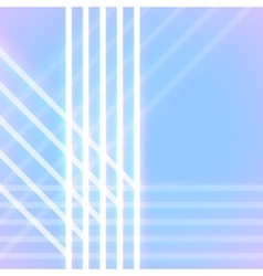 Bright neon lines background vector