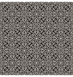 Abstract lacy pattern vector image vector image