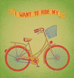 Bici ride vector