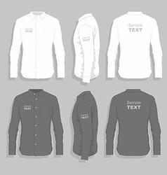 Dress shirts vector