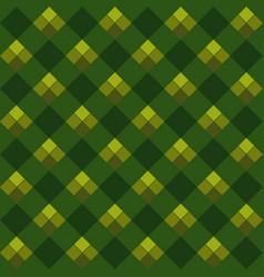 Green argyle seamless pattern vector