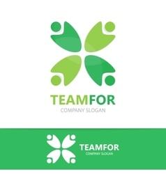 People logo design template vector