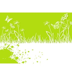 Springtime background vector