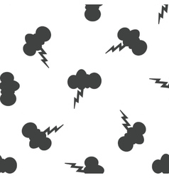 Thunderstorm pattern vector