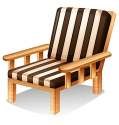A relaxing chair furniture vector