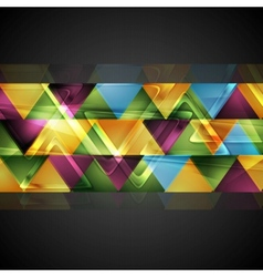 Abstract colorful corporate background vector image