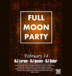 Party poster background vector