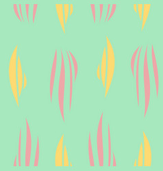 tribal hand drawn background ethnic pattern vector image