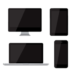 Isolated gadgets vector