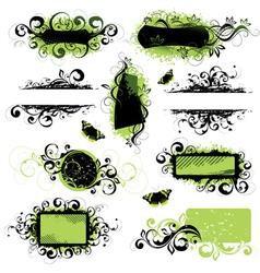 decorative elements vector image