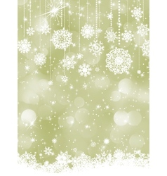 Elegant new year and cristmas card template EPS 8 vector image vector image