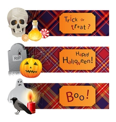 English Halloween vector image vector image
