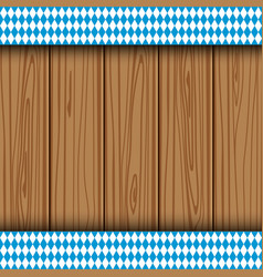 Texture of the Bavarian flag vector image vector image
