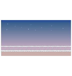 night park background vector image