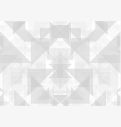 Grey abstract geometric technology background vector
