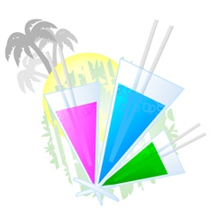 Color drink vector