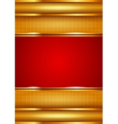 Background template red vector image vector image