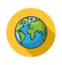 Earth icon vector image