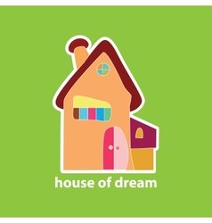 house of dream vector image