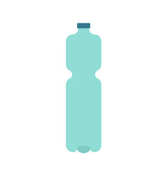 Plastic bottle isolated plastic container for vector