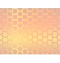 Seamless geometric hexagon background vector image