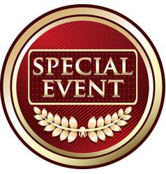 Special event icon vector