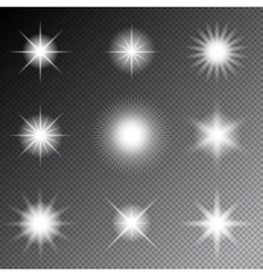 Stars and sparkles vector image