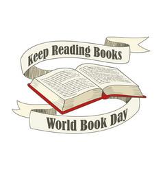 World book day vector