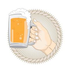 Get a Beer vector image