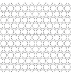 Abstract stack circle seamless background vector